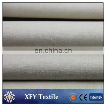 Wholesale Linen Cotton blend plain fabric