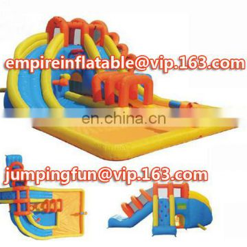 2016 Newest funny medium size inflatable water/dry slide ID-SLM057