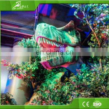 New products party decorations customized moving life size dinosaur head for sale