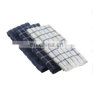 terry cotton kitchen towels ,dih cloth ,Federal Blue , 3 pack