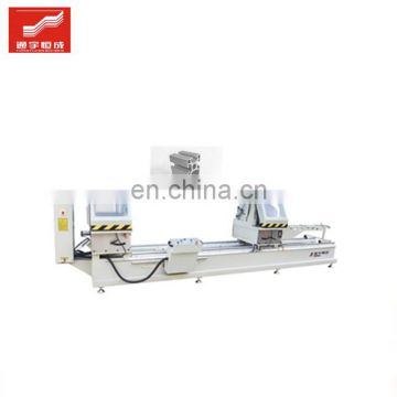 Two-head aluminum cutting saw Two Head Drop For Profiles UPVC Window Machine with factory prices