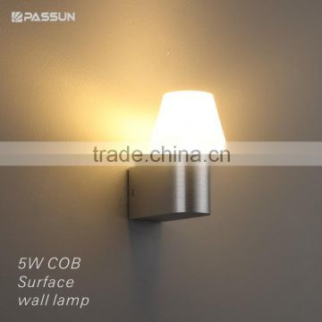 special design acrylic led wall light & COB 5w 500lm surface wall