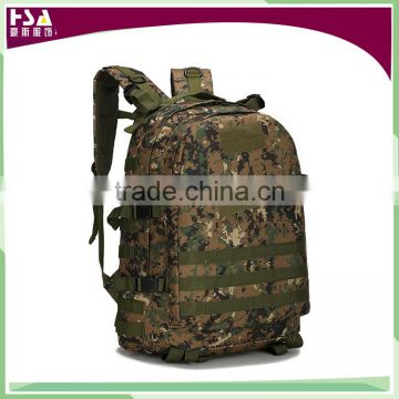 3D waterproof nylon Outdoor mountaineering military tactical backpack