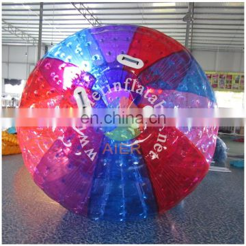 Colorful inflatable zorb ball/inflatable bumper ball
