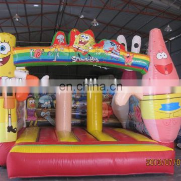 Empire inflatable sponge bob bouncer, moon bouncer, jumping castle NB032