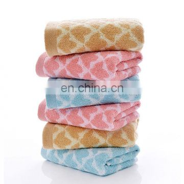 wholesale luxury 100% cotton new design face towel