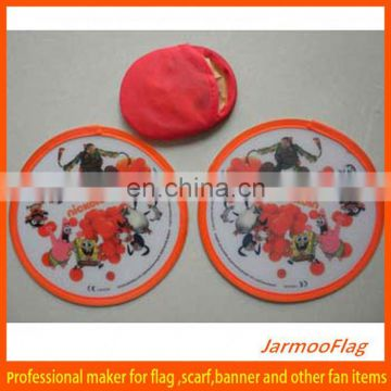 cheap folding nylon frisbee