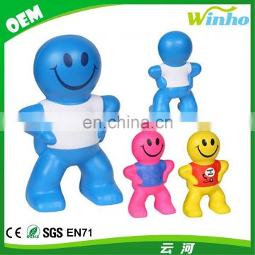 Winho PU Foam Captain Smiley Stress Balls