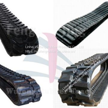 Excavator Undercarriage Parts Rubber Track of Construction Rubber