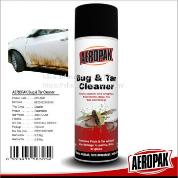 AEROPAK OEM available Pitch Cleaner, Bugs & Tar Cleaner for Car Care
