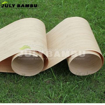 Engineered bamboo wood veneer for interior doors and plywood face