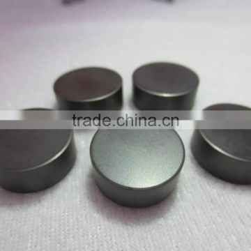 Turning high alloy rollers solid CBN inserts