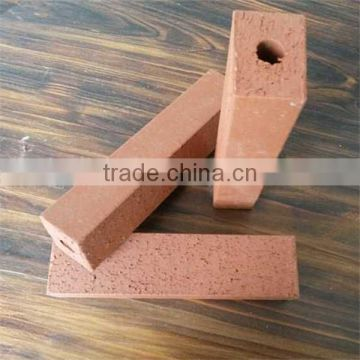 High quality chamotte refractory bricks, outdoor red brick floor tile
