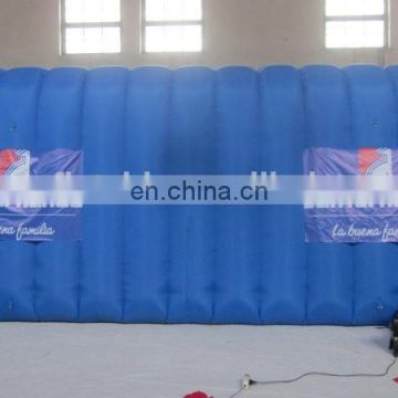 customized high quality led large inflatable tunnel tent, inflatable tunnel