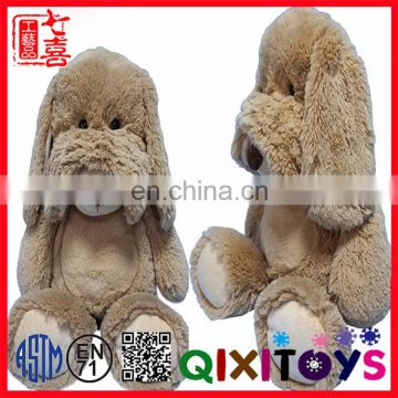 Best made sitting long ears big eyed toy custom plush dog toy stuffed animals baby toys