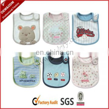 Reusable Waterproof Cotton Bibs