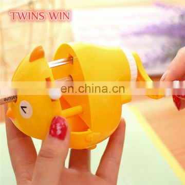 Bangladesh 2018 popular wholesale office stationery price lists promotion gifts novelty animal pencil sharpener machine