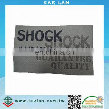 Custom clothing tags OEM high quality woven label