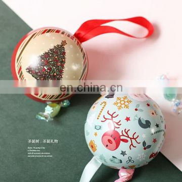Wholesale Christmas tree decoration tin ball
