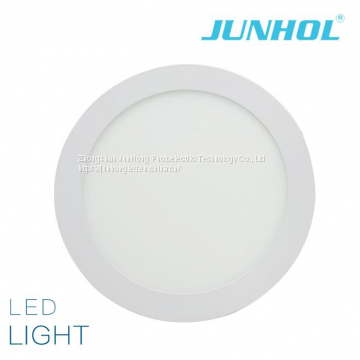 High Efficient Non Flicker Ultra thin square round led ceiling panel light with very economy price