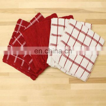 China factory good absorption cotton kitchen towel set
