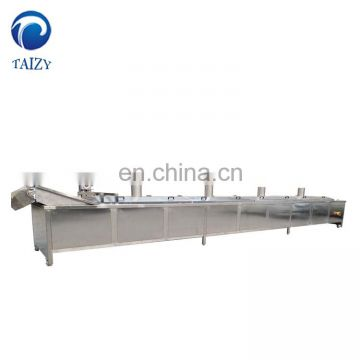 Taizy Industrial Automatic Continuous Chin Chin Frying Equipment Potato Chips Fryer Nuts Frying Machine