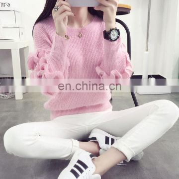 2017 Women Sweaters Warm Autumn and Winter Casual Long Sleeve Pullover