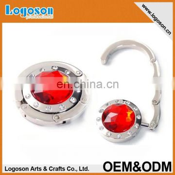 Promotional pink round decorative hardware bags accessories