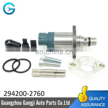 Fuel Pump Suction Control Valve 294200-2760 for Mitsubishi L200 Nissan SCV 4D56