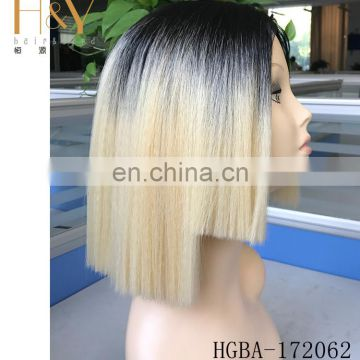 beautiful women hair wig blonde synthetic wig