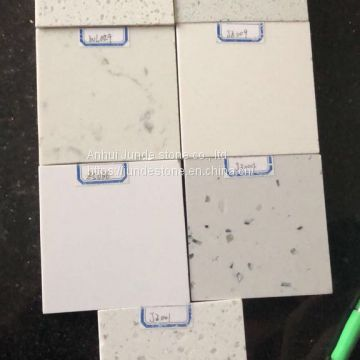 Nano white artificial stone 18mm big slabs