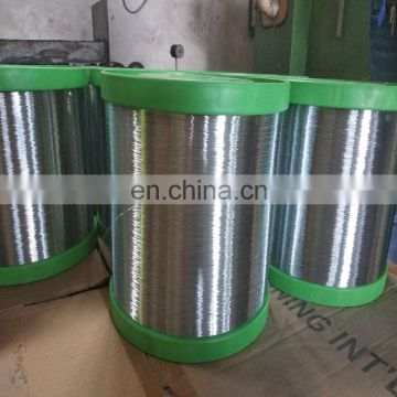 galvanized steel spool wire price per ton for scourer making