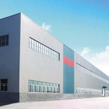 Prefabricated Steel Structure Building  Steel Q235b Used In Large Factories