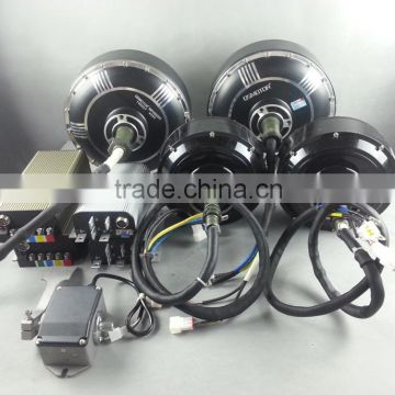 Qs 273 8000w 72v 96v Electric Car In Wheel Hub Motor
