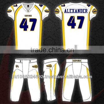 Youth American Football jersey Pant,Custom American football uniform tackle twill embroidery logo