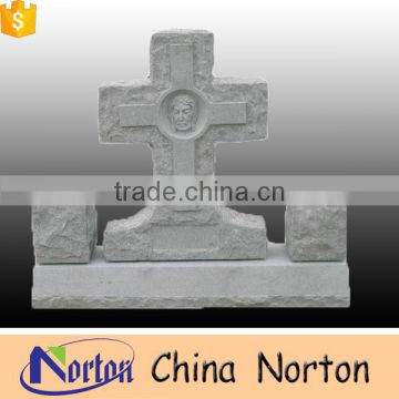 Good price quality assuarance standing Jesus granite tombstone NTGT-020L