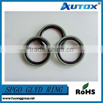 Standard PTFE/PU Material Glyd ring, Hydraulic Glid ring for sale