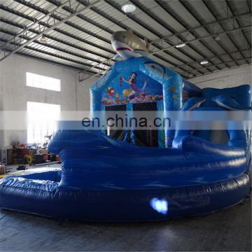 Inflatable Dolphin&Mermaid Ocean theme Combo with slide and bouncer for sale
