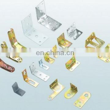 Standard customized sheet metal stamping color plated various angle mounted bracket