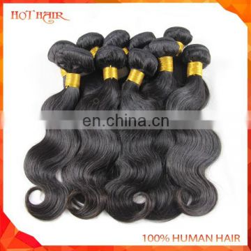 Unprocessed AAAAAA grade dyeable top grade body wave cheap 100% human peruvian virgin hair