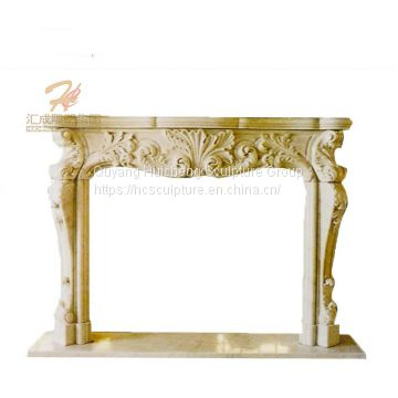 New Luxury Wholesale Marble Decorative Fireplace Mantle