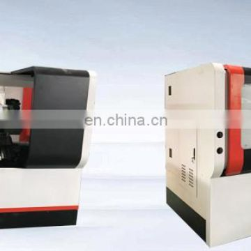 CK40L Chinese Desktop 2 Axis Cnc Controller Lathe Machine
