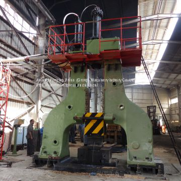 Hydraulic open die forging hammer 4 tons hammer