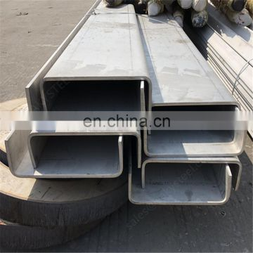 AISI Standard Size 304 C channel steel price