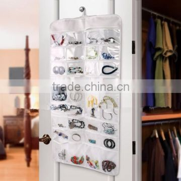 Clear Plastic Jewelry Organizer Hanging