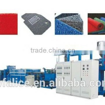 pvc coil mat carpet making machines for sale