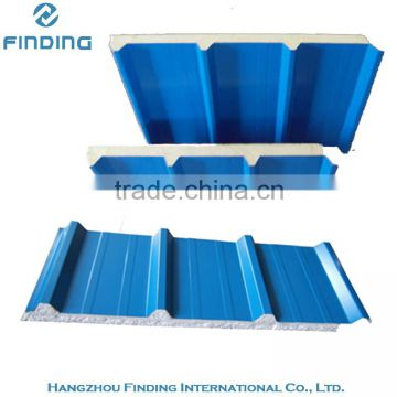 roof sandwich panel house use, roof sandwich panel price, building material roof aluminium sandwich panel