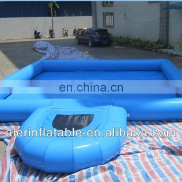 hot sale fun for kids jumping borad inflatable pool