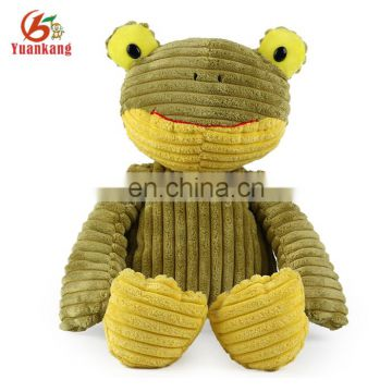 Custom cheap cute plush the green frog stuffed toys