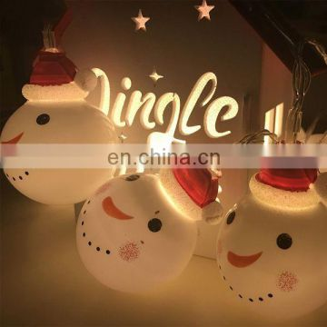 2017 new snowman LED christmas light ,decoration light for party and Christmas tree